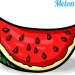Постер, плакат: Melon fresh fruits