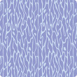 Seamless wave hand-drawn pattern — Image vectorielle