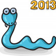 Funny cartoon snake — Stock Vector #33244037