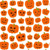 Halloween-Hintergrund. — Stockvektor