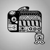 Fish. Flyuro image of the Maya. Maya designs. Maya design elements. — Vecteur