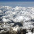 Aerial view on mountains from an airplane — Stock Photo #12658914
