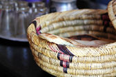 Wicker ware and other dishes — Stok fotoğraf