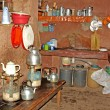 Kitchen in a village - Stock Photo