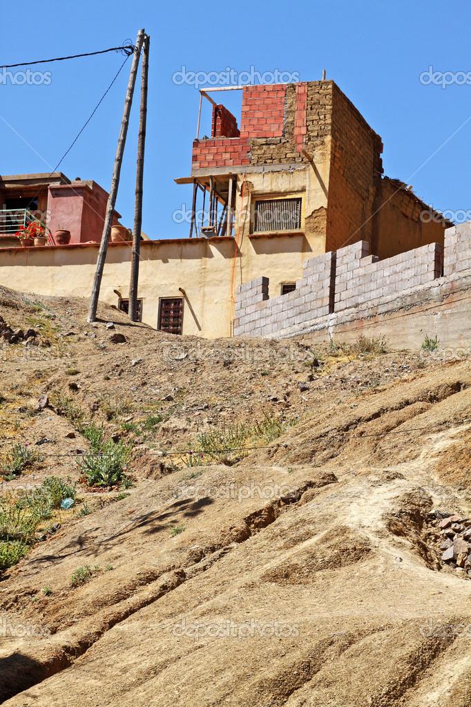 Casa sulla collina in atlas mountains marocco foto for Piani casa ranch in collina