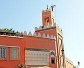 マラケシュ、モロッコのモスク — ストック写真