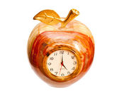 Onyx hodiny izolovaných na bílém pozadí — Stock fotografie