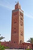 Koutoubia mosque in Marrakesh, Morocco — Stock Photo