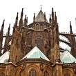 Stock Photo: View of St. Vitus Cathedral in Prague Castle, Czech Republic