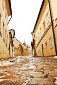 Beautiful Novy Svet Street in Prague, Czech Republic — Stock Photo