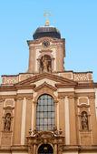 Tempel von jan nepomucký in prag, tschechische republik — Stockfoto