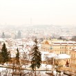Panorama of Prague with its landmarks — Stock Photo