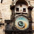 Famous astronomical clock at the Old Town square in Prague, Czec — Stock Photo #23231792