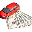 Car and money — Stock Photo #24384041