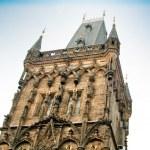 Famous Powder Gate in Prague, Czech Republic — Stock Photo #24686435