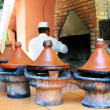 Stock Photo: Moroccceramic cookware - tajines