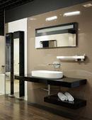 Modern interior. Bathroom — Stock Photo