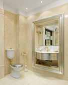 Luxury interior. Bathroom — Стоковое фото