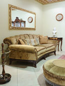 Luxury living-room. Sofa — Stock Photo