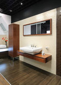 Modern interior. Bathroom — Stock Photo