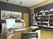 Diseño interior moderno — Foto de Stock
