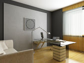 Modern interior design — Stock Photo