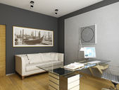 Modern interior design — Stock fotografie