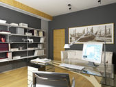 Modern interior design — Stock Photo