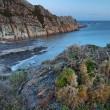 skaliste wybrzeża — Zdjęcie stockowe