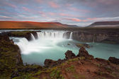Godafoss the waterfall of gods — Stock Photo
