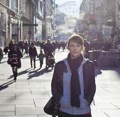 Městská holka — Stock fotografie