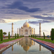 Taj Mahal - India - Stock Photo