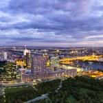 Panorama - Skyline of Donau City Vienna — Stock Photo #21441681