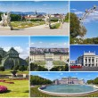 Vienna - Collage — Stockfoto
