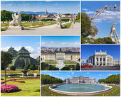 Viena - collage — Foto de Stock