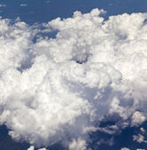 Above dense cloudscape — Stock Photo