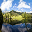 Little alpine lake in Austria — Stock Photo #32471619