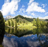 Little alpine lake in Austria — Stock Photo