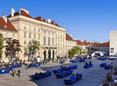 The Museumsquartier of the city of Vienna - Austria — Стоковое фото