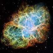 Crab Nebula — Stock Photo