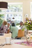 Senior Community in a retirement home — Zdjęcie stockowe