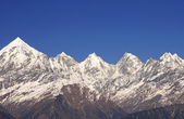 Five mountain peaks — Stockfoto