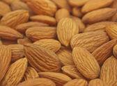 Pile of almonds — Stock Photo