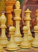 Styrelsen för schackspel — Stockfoto