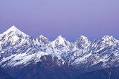 山 panchachuli — 图库照片