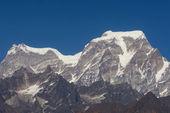 """""""Hanthi Parvat and Ghori Parvat """" Peak — 图库照片"""