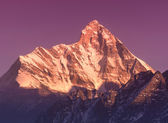 "Sunset at mountain Nanda Devi"" — Foto Stock"