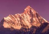 "Sunset at mountain Nanda Devi"" — Stock Photo"