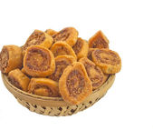 Bhakarwadi snacks — Stock Photo