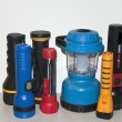 Stock Photo: Flashlight Collection